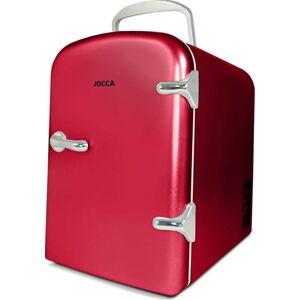 Červená přenosná mini lednička JOCCA Mini