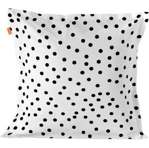 Bavlněný povlak na polštář s puntíky Blanc Essence Marble, 60x60cm