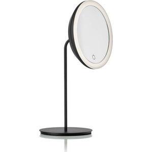Černé kosmetické zrcadlo Zone Eve,ø18cm
