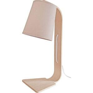 Stolní lampa s béžovým stínítkem Vox Fado