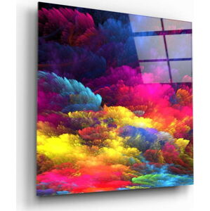 Skleněný obraz Insigne Color Burst,100 x100cm