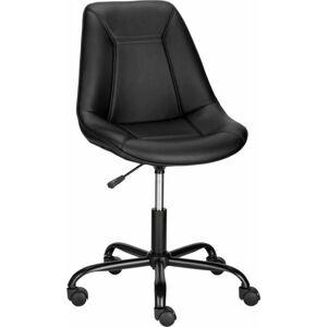 Černá kancelářská židle Støraa Carl