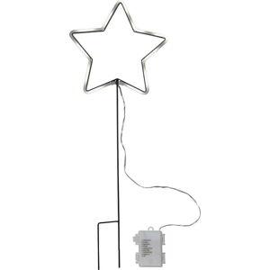LED světelná dekorace vhodná do exteriéru Best Season Neonstar, výška 60 cm