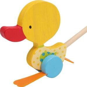 Dřevěná tahací hračka Legler Duck Tine