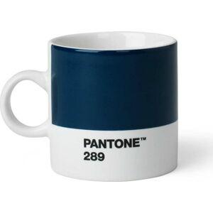 Tmavě modrý hrnek Pantone Espresso, 120 ml