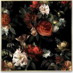 Obraz na plátně Styler Orange Flowers, 67 x 87 cm