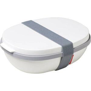 Bílý obědový box Rosti Mepal Ellipse