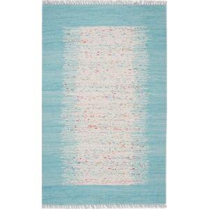 Modrý koberec Eco Rugs Akvile, 120x180cm