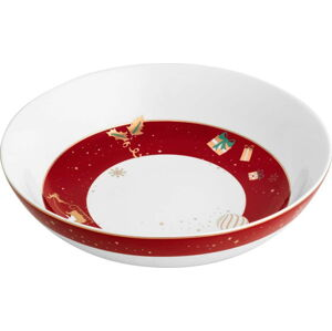 Porcelánová miska s vánočním motivem Brandani Alleluia Centrepiece New, ⌀ 32 cm