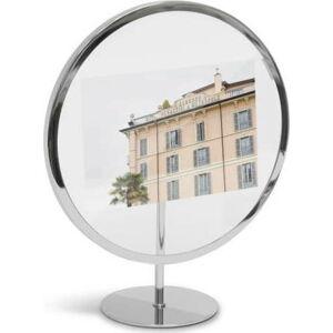 Šedý volně stojící rám na fotografii o rozměru 12 x 18 cm Umbra Infinity