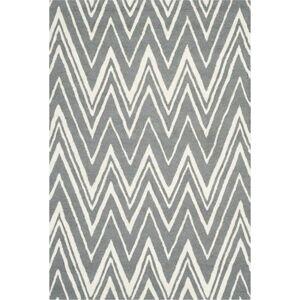 Vlněný koberec Safavieh Luca Grey, 182 x 121 cm