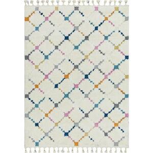 Béžový koberec Asiatic Carpets Criss Cross, 80 x 150 cm