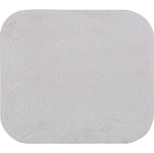 Bílá předložka do koupelny Confetti Miami, 55x57cm