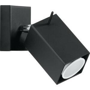 Černé nástěnné svítidlo Nice Lamps Toscana