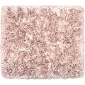 Světle hnědý koberec z ovčí kožešiny Royal Dream Zealand Sheep, 130x150cm