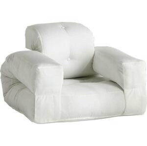 Bílé rozkládací křesílko vhodné do exteriéru Karup Design Design OUT™ Hippo White
