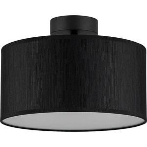 Černé stropní svítidlo Bulb Attack Doce M, ⌀ 30 cm