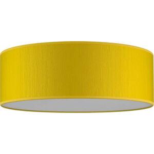 Žluté stropní svítidlo Bulb Attack Doce XL, ⌀ 45 cm