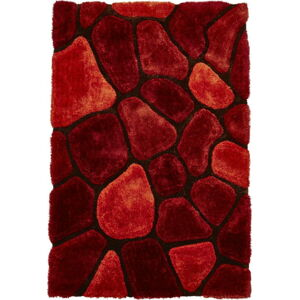 Oranžovo-červený koberec Think Rugs Noble House, 120 x 170