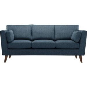 Modrá pohovka Jalouse Maison Elisa, 207 cm