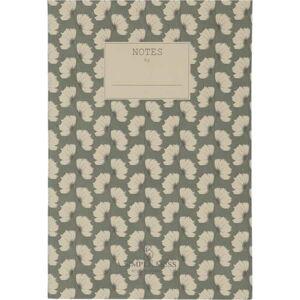 Zápisník A Simple Mess Jena Hegbe Green, 21x14cm