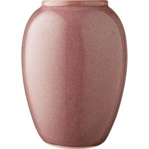 Růžová kameninová váza Bitz Pottery