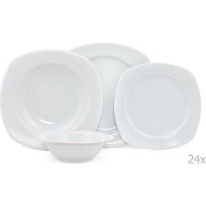 24dílná sada porcelánového nádobí Kutahya Carlo
