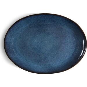 Modrá kameninová servírovací mísa Bitz Mensa