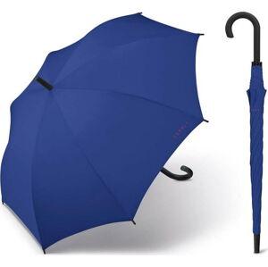Tmavě modrý větruodolný holový deštník Ambiance Esprit, ⌀105cm