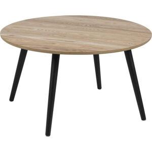 Konferenční stolek s dýhou z jasanu Actona Stafford, ⌀80cm