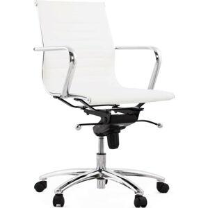 Bílá kancelářská židle Kokoon Michelin