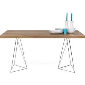 Hnědý stůl TemaHome Multi, délka 180cm