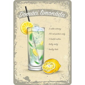 Nástěnná dekorativní cedule Postershop Lemonade