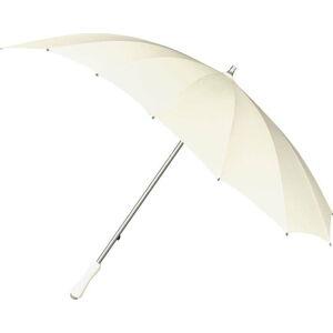 Bílý golfový deštník ve tvaru srdce Ambiance Heart, ⌀107cm