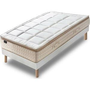 Jednolůžková postel s matrací Bobochic Paris Cashmere,90x200cm
