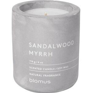 Svíčka ze sojového vosku s vůní santalového dřeva a myrhy Blomus Fraga