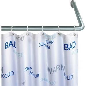 Univerzální rohová tyč na sprchový závěs Wenko Shower Curtain Rod