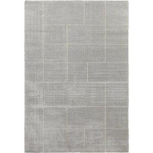 Světle šedý koberec Elle Decor Glow Castres, 120 x 170 cm