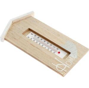 Nástěnný dřevěný teploměr Dakls Ruseno