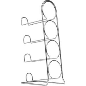 Stojan na lahve Premier Housewares Chrome Wine Rack
