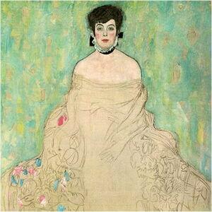 Reprodukce obrazu Gustav Klimt - Amalie Zuckerkandl,40x40 cm