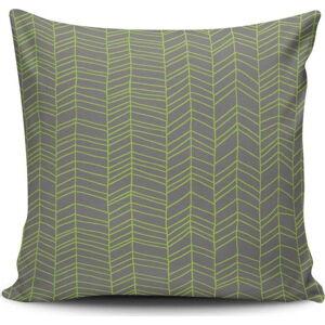 Polštář s příměsí bavlny Cushion Love Plage, 45 x 45 cm