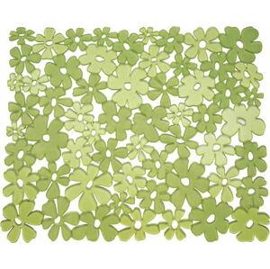 Zelená podložka do umyvadla iDesign Blumz