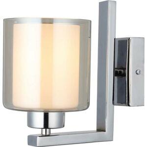 Nástěnné svítidlo ve stříbrné barvě Homemania Decor Voda