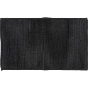 Černá koupelnová předložka z bavlny Södahl