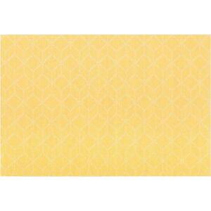 Žluté prostírání Tiseco Home Studio Cubes, 45 x 30 cm