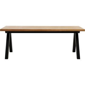 Jídelní stůl ze dřeva bílého dubu Unique Furniture Oliveto
