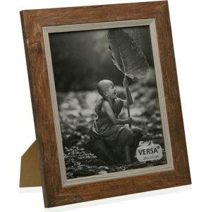 Dřevěný rámeček na fotografii Versa Madera Marron, 20x25cm