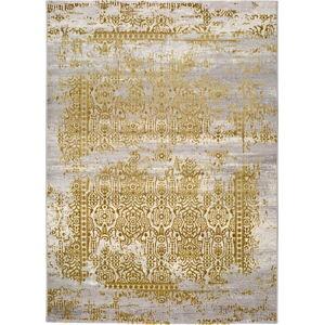 Šedo-zlatý koberec Universal Arabela Gold, 120x170cm