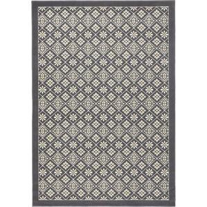 Šedobílý koberec Hanse Home Gloria Tile, 200x290cm